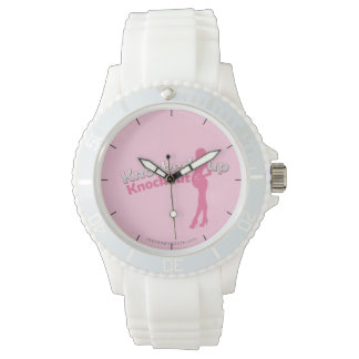Knocked Up Knockout Baby Shower Mom-to-Be Wrist Watch