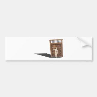 KnockingWoodenCastleDoor030313.png Bumper Stickers