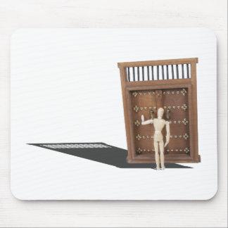 KnockingWoodenCastleDoor030313.png Mouse Pad