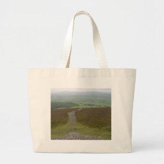 Knocknara Green Field Large Tote Bag