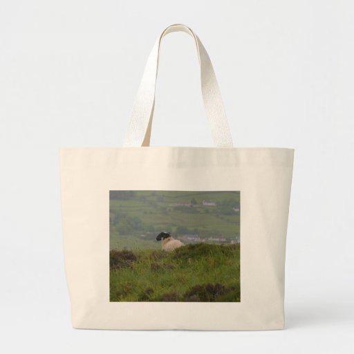 Knocknara Ireland Sheep Lambs Jumbo Tote Bag