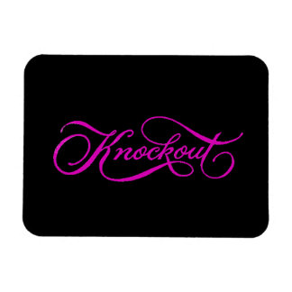 KNOCKOUT COMPLIMENTS CHEEKY EXPRESSIONS SAYINGS GI RECTANGULAR PHOTO MAGNET