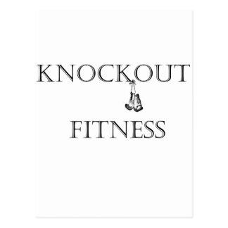 Knockout Fitness Club Postcard