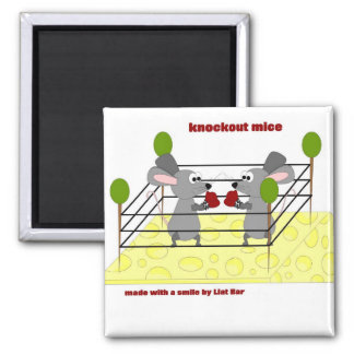 knockout mice refrigerator magnet