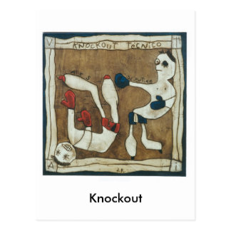 Knockout Postcard