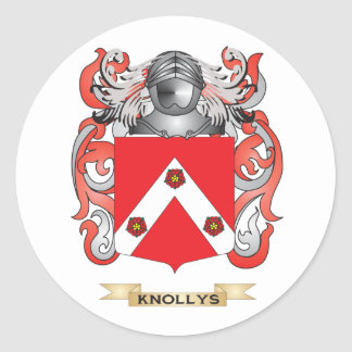 Knollys Coat of Arms (Family Crest) Sticker