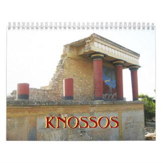 Knossos Crete Calendar