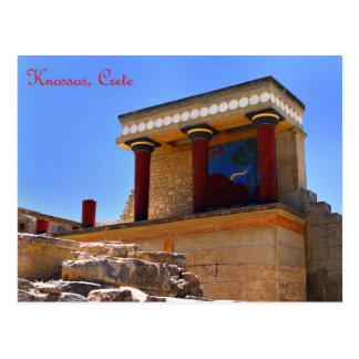 Knossos North Entrance postcard