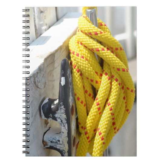 Knot Another by Kenneth Yoncich Spiral Notebook