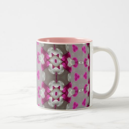 Knot Bound Strips Two-Tone Coffee Mug