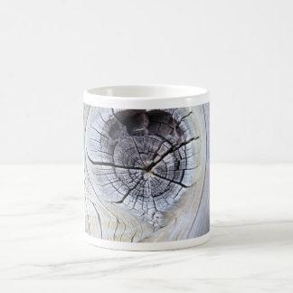 Knot Hole on Post Coffee Mug