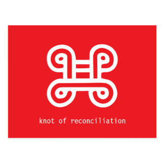 Knot of Reconciliation Postcard
