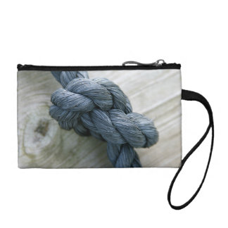 Knot Photo Key Coin Clutch