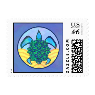 Knot Turtle Stamps