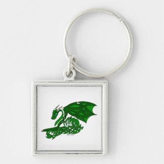 Knot-work Dragon Keychain