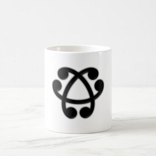 Knoten knot tee tassen