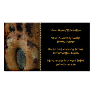 Knothole Art Business Card