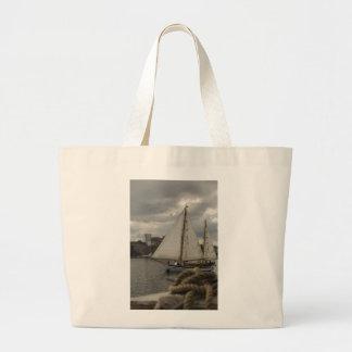 Knotical Sailing Large Tote Bag