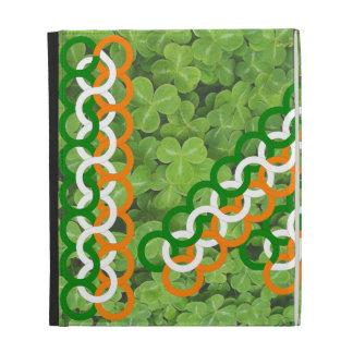 Knots Shamrock by Kenneth Yoncich iPad Folio Covers