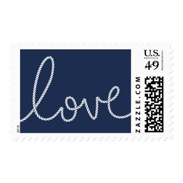 Beach Themed Knotted Love Postage