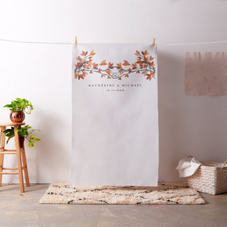 Knotted Love Trees Wedding Photo Backdrop Cloth