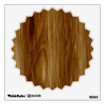 Knotted Oak Woodgrain Look Wall Decals