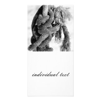 Knotted Photo Card