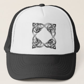 Knotted Square Trucker Hat