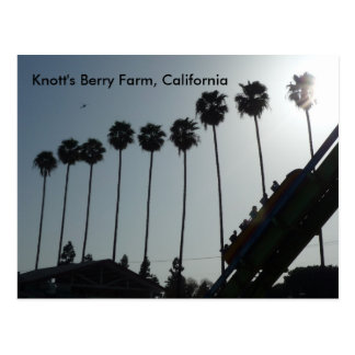 Knott's Berry Farm, California Postcard