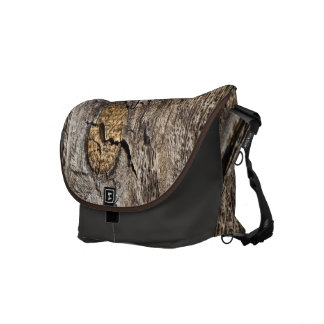 Knotty Board Messenger Bag