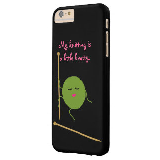 Knotty Knitter Funny Barely There iPhone 6 Plus Case