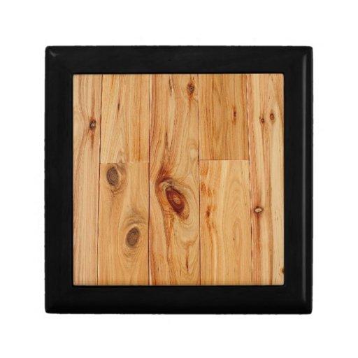 Knotty Light Wood Grain Floor Jewelry Box   Zazzle