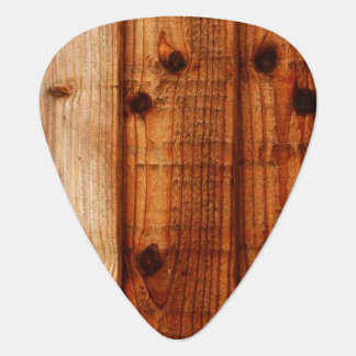 Knotty Pine Guitar Pick, Standard Guitar Pick