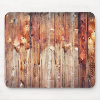 Knotty pine mouse pad