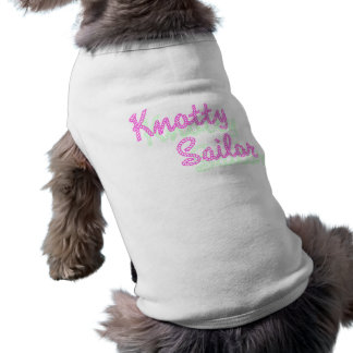 Knotty Sailor Puppy Tank Pet Clothing