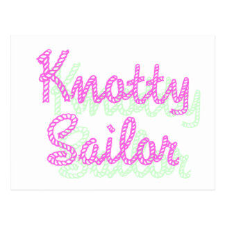 Knotty Salior Post Card