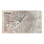 Knotty wood business card