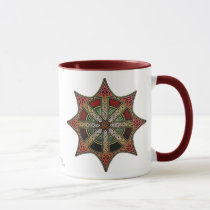 Knotwork Chaos Star Mug