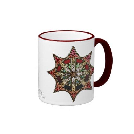 Knotwork Chaos Star Mug