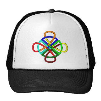 Knotwork Cross Hat