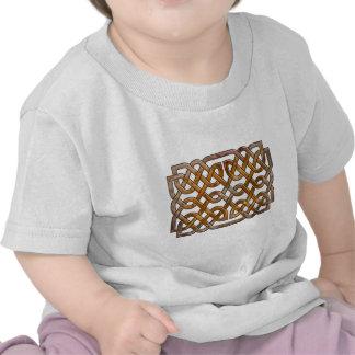 knotwork entrelazado celtic camisetas