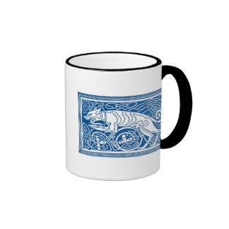 Knotwork Hound Mug