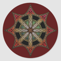 Knotwork Sign of Chaos Stickers