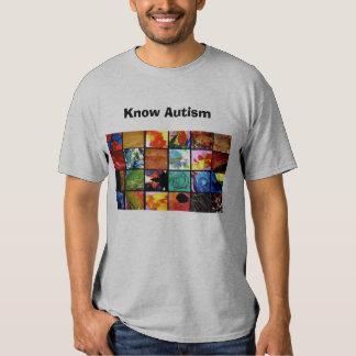 Know Autism T Shirt