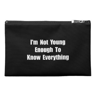 Know Everything Travel Accessory Bags