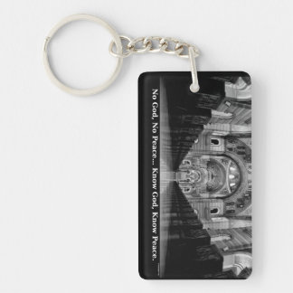 Know God Keychain