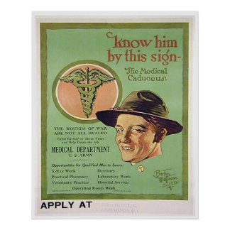 Know Him by this Sign Posters