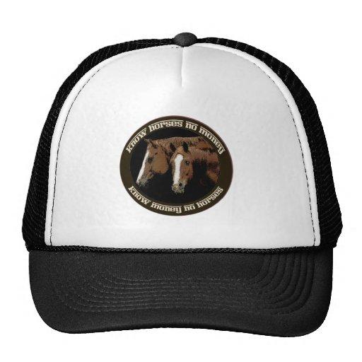 Know Horses No Money Trucker Hat