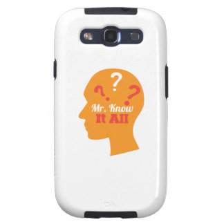Know It All Samsung Galaxy SIII Covers