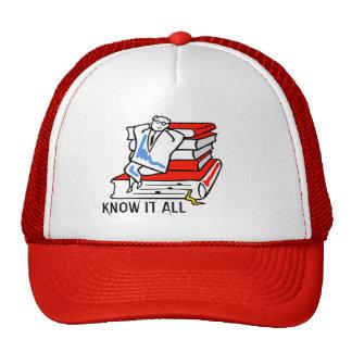 Know It All Trucker Hat